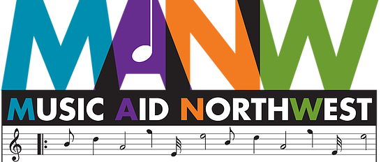 Music Aid Northwest logo